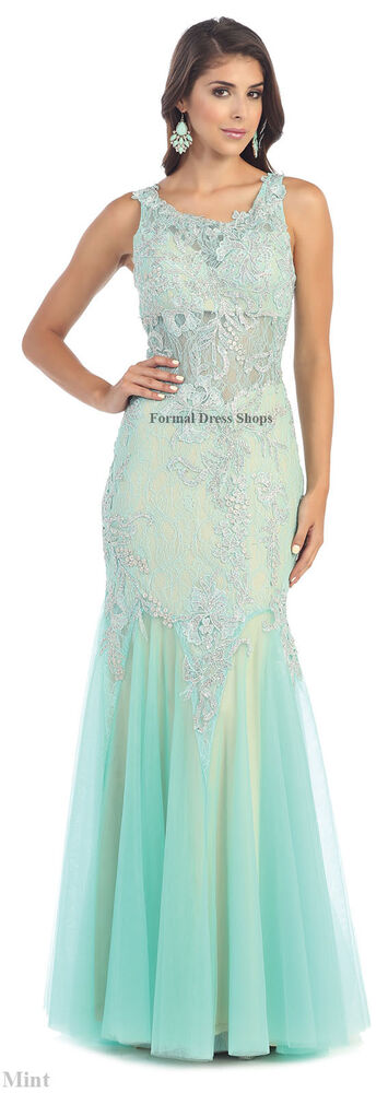 ! SALE ! MERMAID EVENING GOWN FORMAL GALA PROM DRESS ...