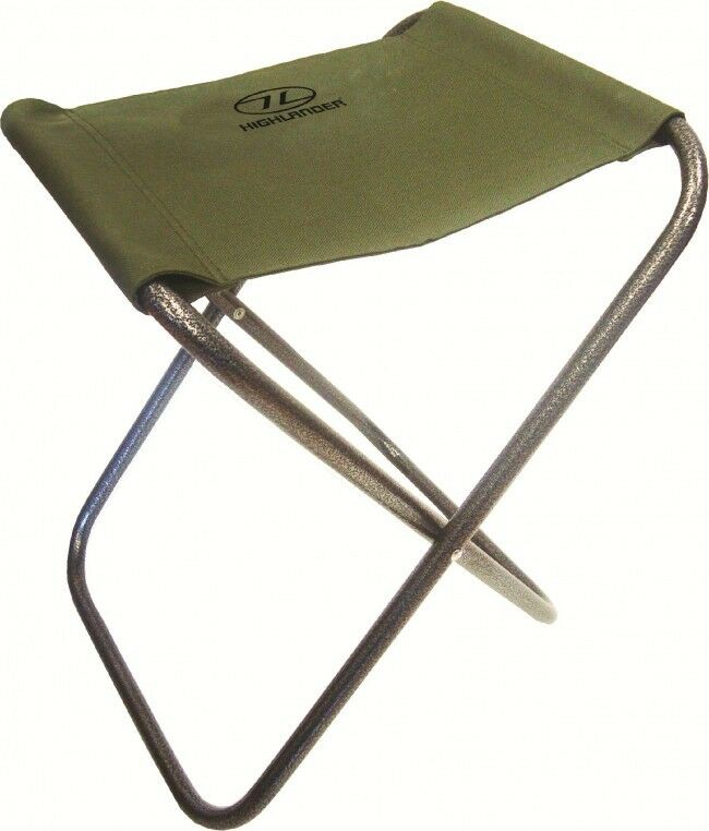 PORTABLE LIGHTWEIGHT FOLDING CAMPING STOOL foot seat chair ...