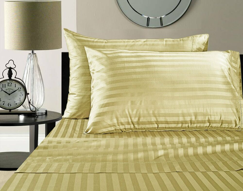 Thread Count Queen Bed Sheet Set
