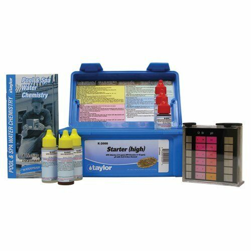 Taylor Commercial 2000 Series Pool Test Kit Ebay