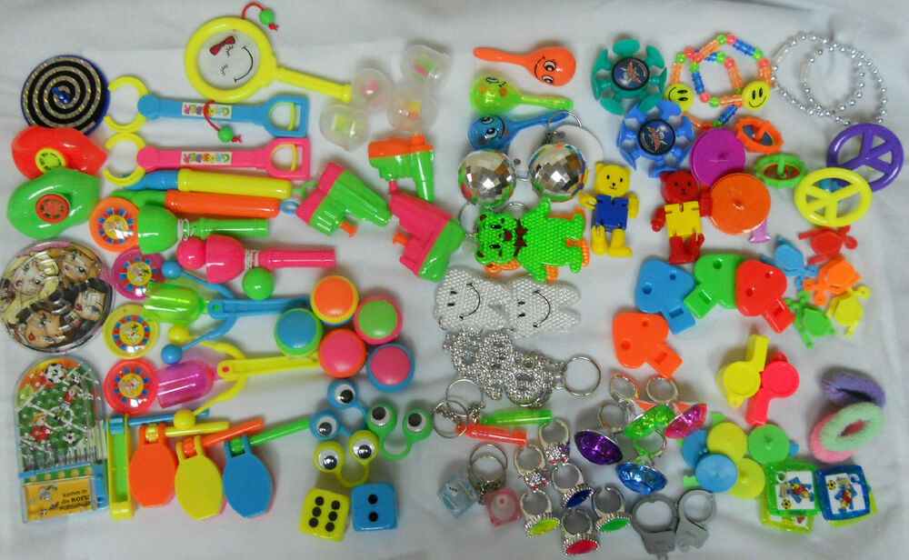Bulk Prize Toys : Mega deluxe toy assortment pieces pinata fillers