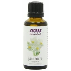 Now Foods Jasmine Essential Oil 1oz. For Diffusers & Burners Romantic Relaxing