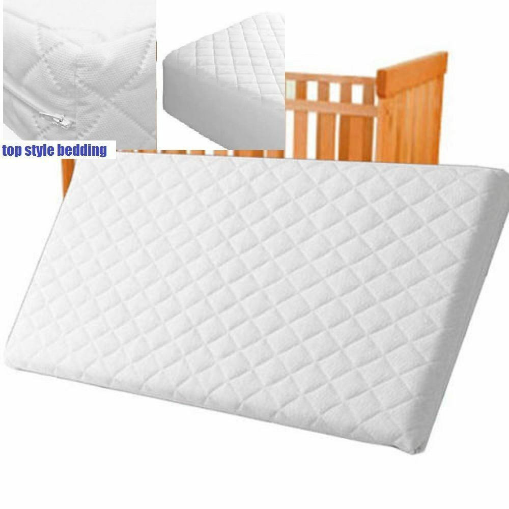 Quilted Mattress Foam Cot Bed Mattress Cot Bed Junior Bed Toddler Foam All Size Ebay