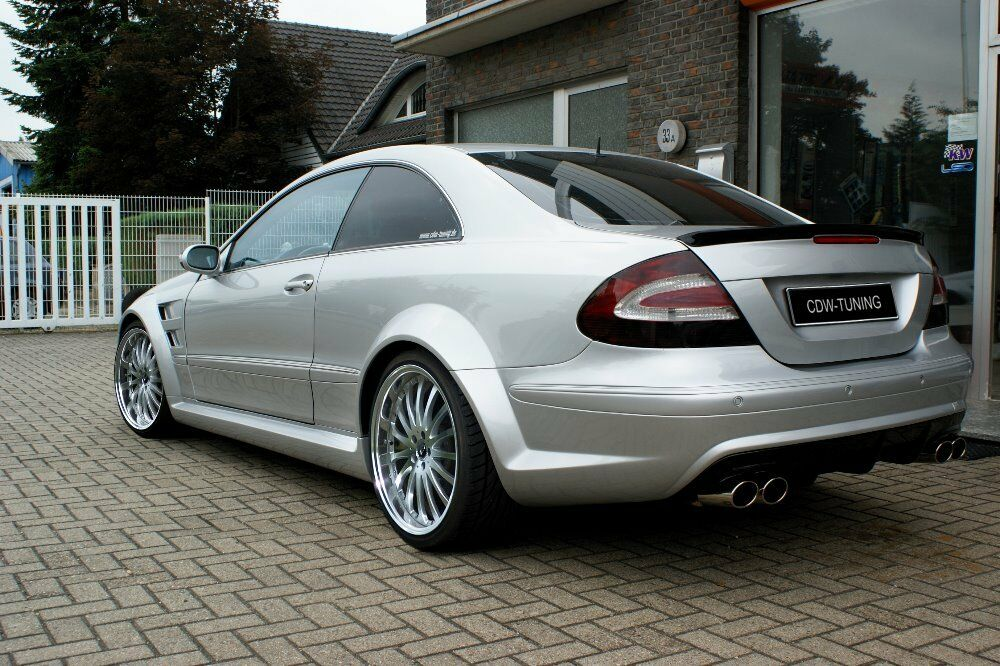 heckspoiler black series mercedes clk w209 tuning a amg. Black Bedroom Furniture Sets. Home Design Ideas