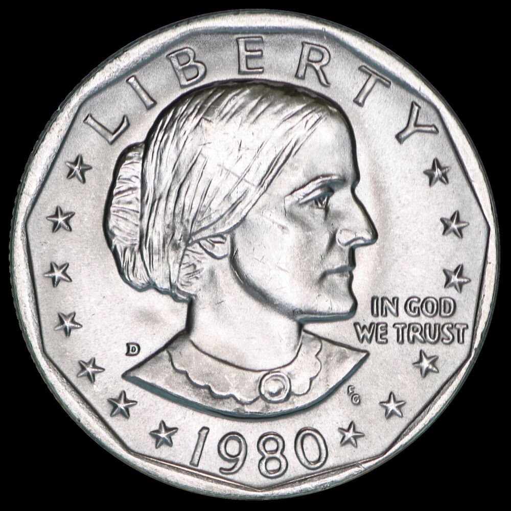susan b anthony one dollar coin