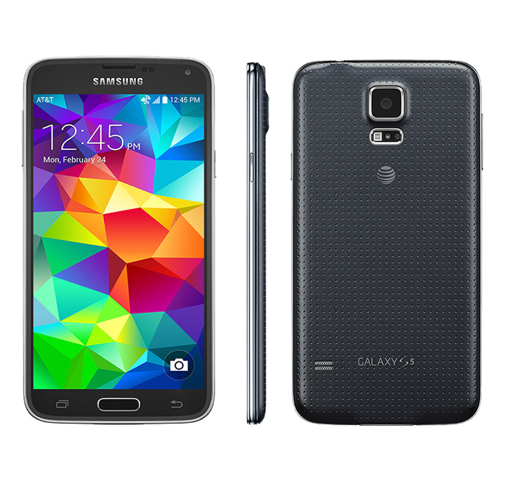 Unlocked samsung galaxy s5 sm g900a 16gb 16mp 4g lte android