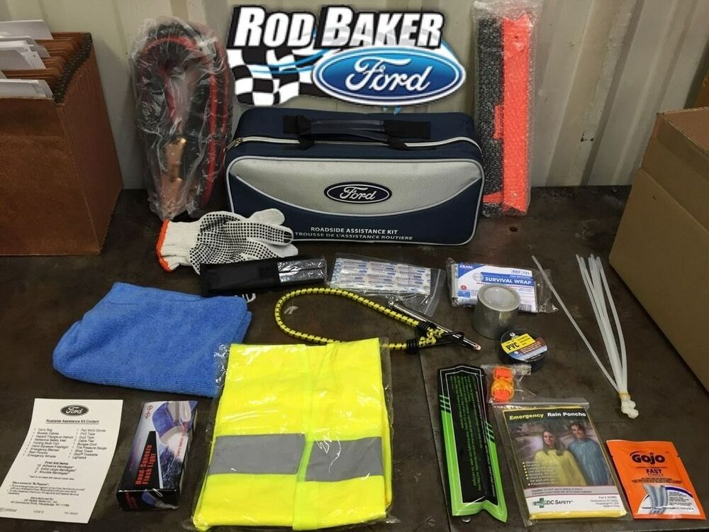 ford factory emergency roadside assistance kit safety gear. Cars Review. Best American Auto & Cars Review