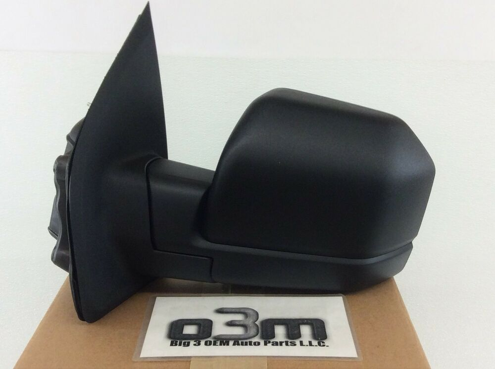 2015 2016 Ford F 150 Left Hand Driver Side Mirror Black