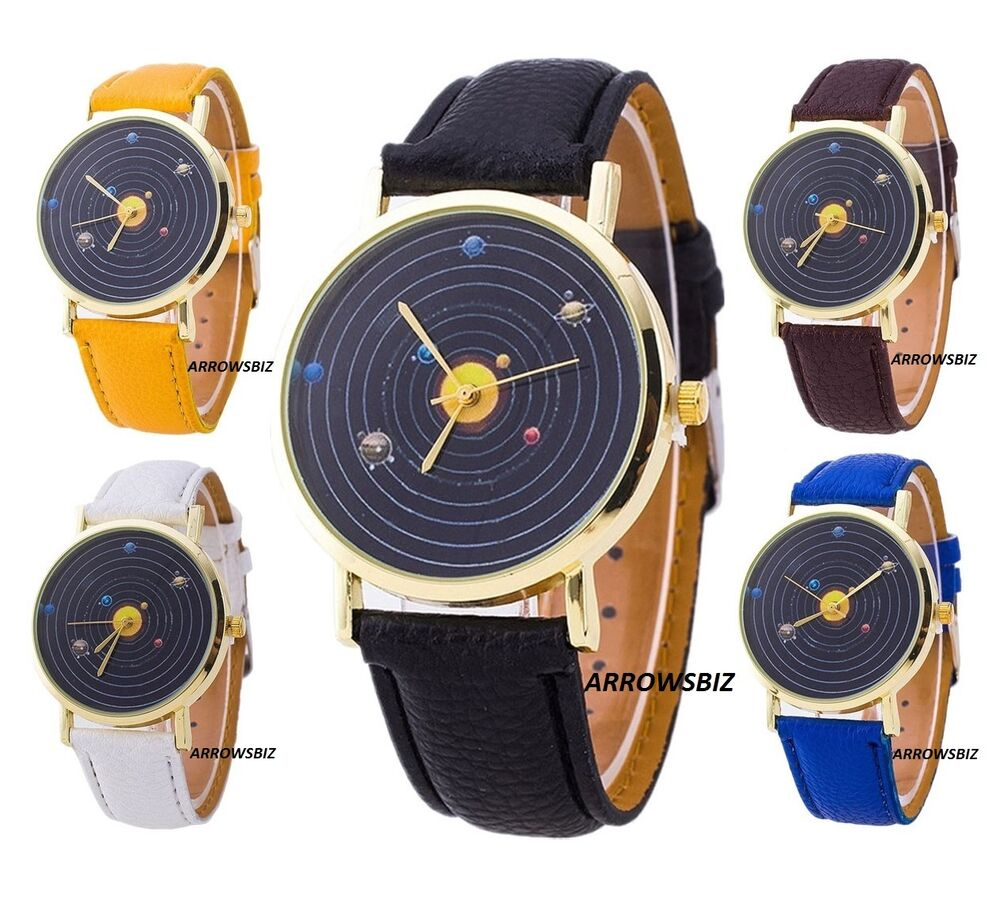 planets rotating wrist watch - photo #33