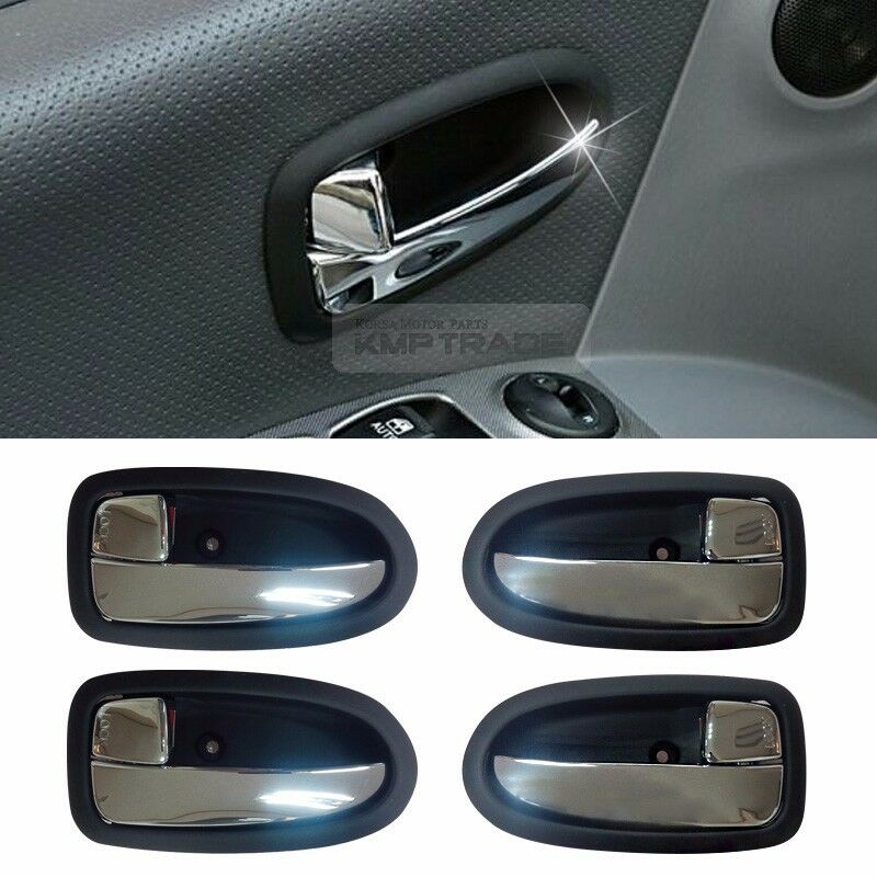 Oem Interior Chrome Inner Door Catch Inside Handle Trim For Hyundai 05 06 Matrix Ebay
