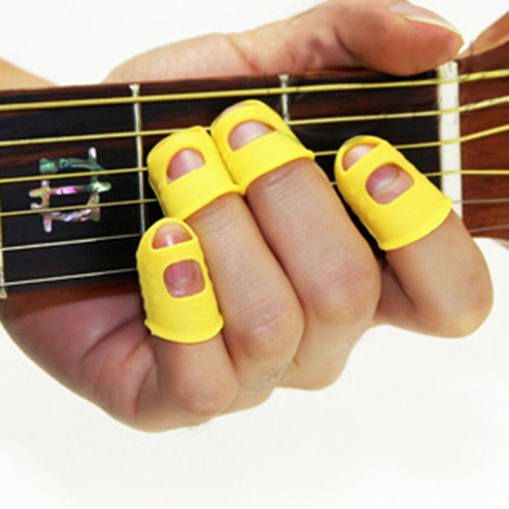 picks thumb finger guitar and
