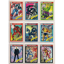Kyпить 1990, 1991, 1992, 1993 Marvel Universe Complete  Card Sets! (4 sets) FREE SHIP на еВаy.соm