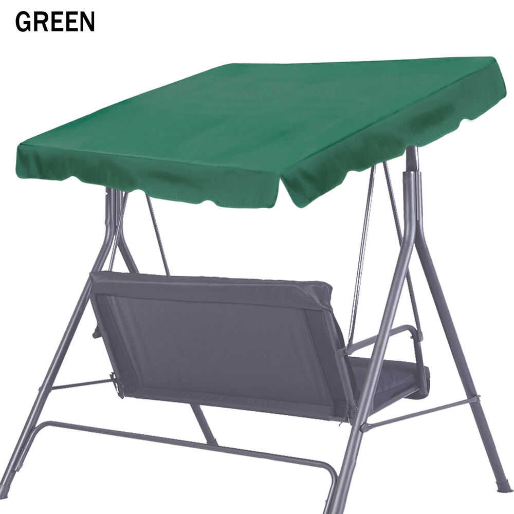 Details About Patio Outdoor 73x52 Swing Hammock Canopy Replacement Porch Top Polyester Cover