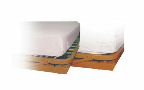 "8"" Vinyl Fitted Waterproof Mattress Protector Cover Queen"