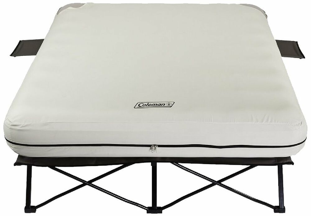 Coleman Queen Size AIRBED COT, Steel Frame Camping COT ...