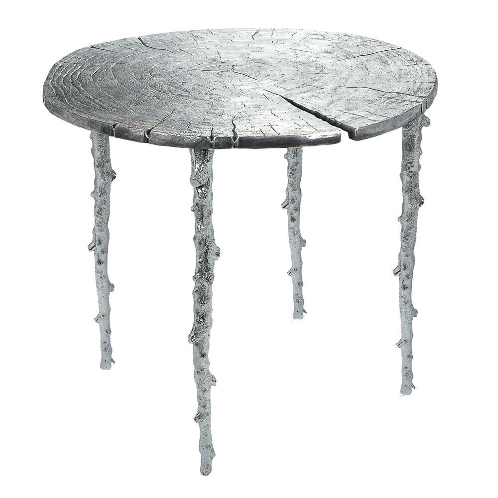 Michael Aram Silver Unique Modern Coffee Table Decor