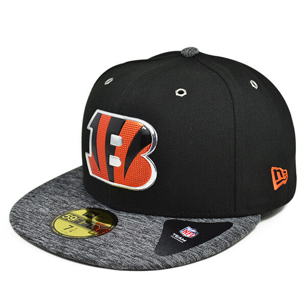 Details about Cincinnati Bengals 2016 NFL DRAFT Black FITTED 59Fifty New  Era Hat 3abb93447