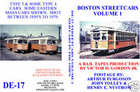 DVD: Boston Streetcars Volume 1: Old Cars in the 1950's Trolleys Trams