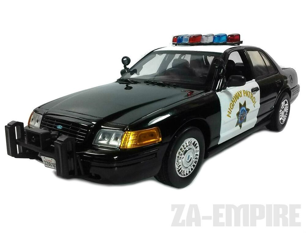 1 18 2001 ford crown victoria police car california. Black Bedroom Furniture Sets. Home Design Ideas