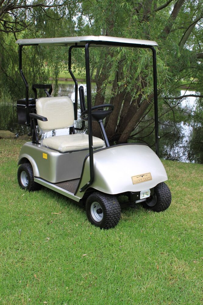 single seat electric hawk golf cart brand new ebay. Black Bedroom Furniture Sets. Home Design Ideas
