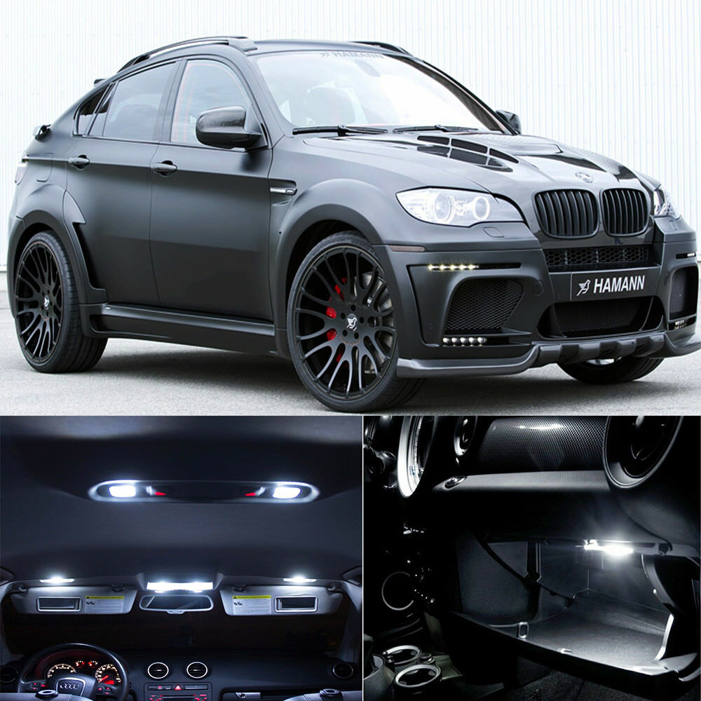 Bmw X6 S: 23×white Canbus Interior Lamp LED Light Package For BMW X6