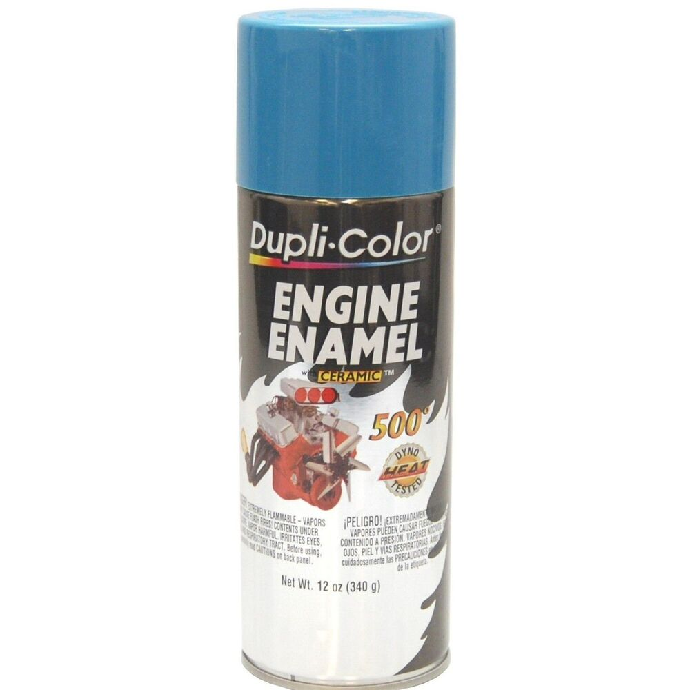duplicolor de chrysler mopar blue motor engine spray paint aerosol oz ebay
