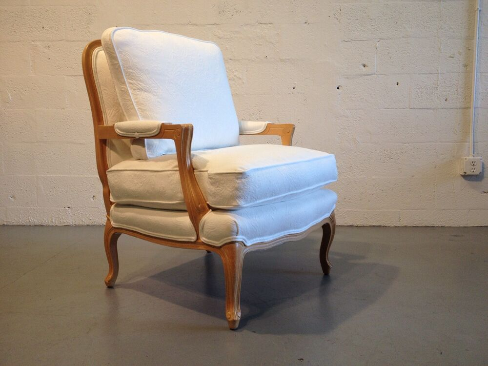 1 bergere chair french hollywood regency baker lounge for Chair 6 mt baker