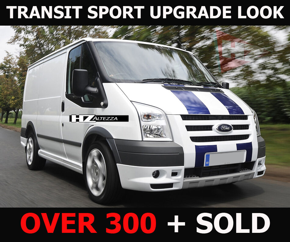 ford transit mk7 06 13 sport pack upgrade bodykit short wheel base only uk ebay. Black Bedroom Furniture Sets. Home Design Ideas
