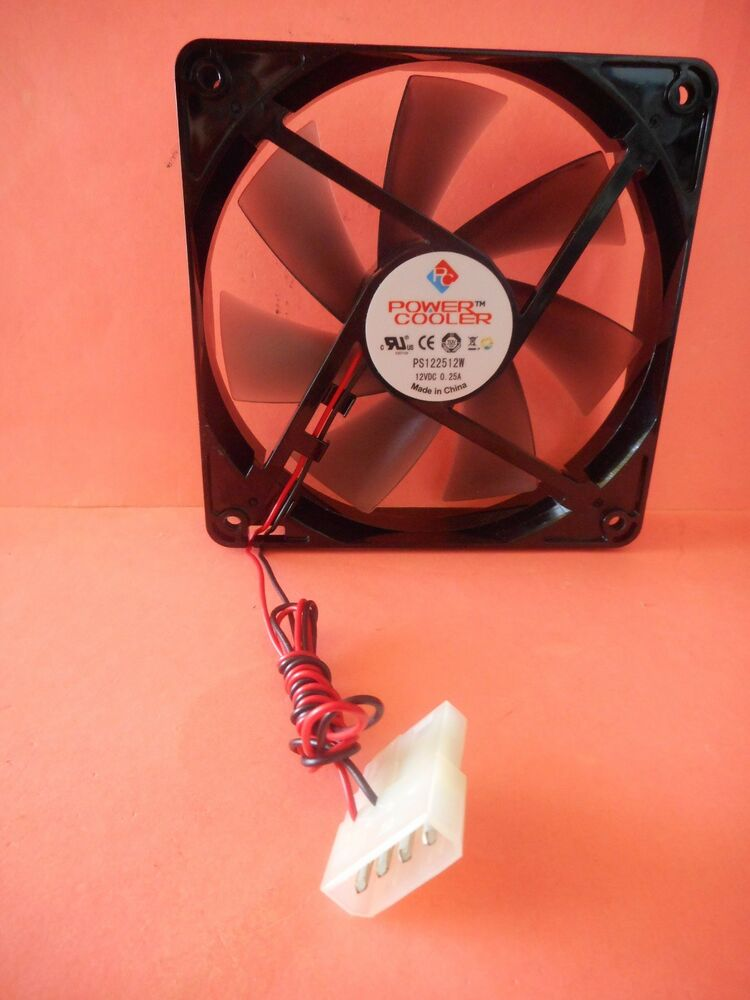 Fandom Powered By Wikia: Genuine Power Cooler 120mm 12V DC 4-Pin Computer Power