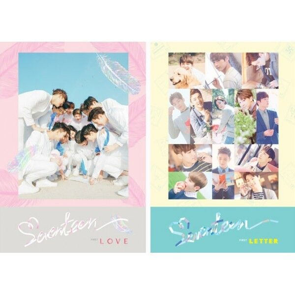 SEVENTEEN FIRST ALBUM [ FIRST LOVE&LETTER ] CD BOOKLET