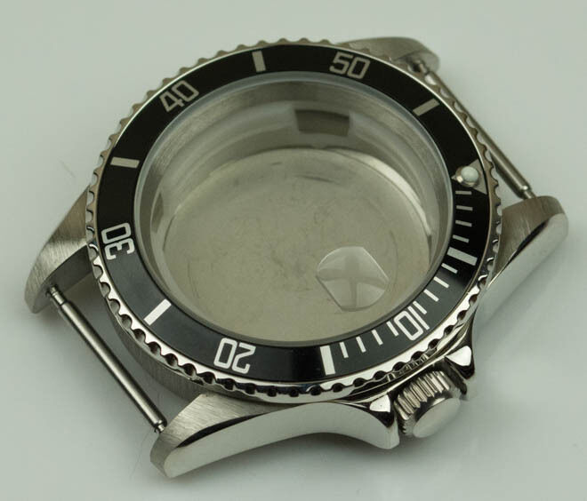New Stainless Steel Watch Case Polished Generic Submariner