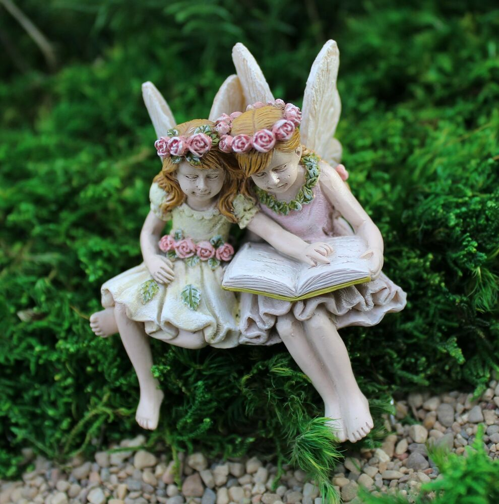 Miniature fairies paige phoebe 99 fairy garden Small garden fairies