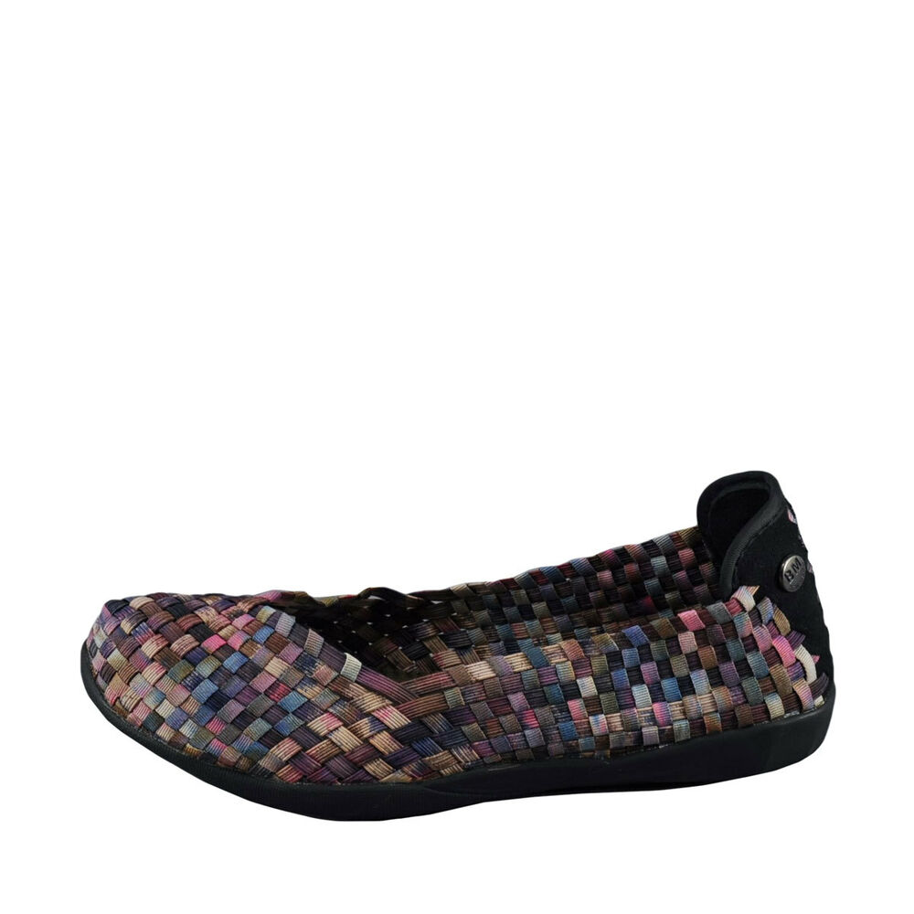 Pink Camo Slip On Shoes