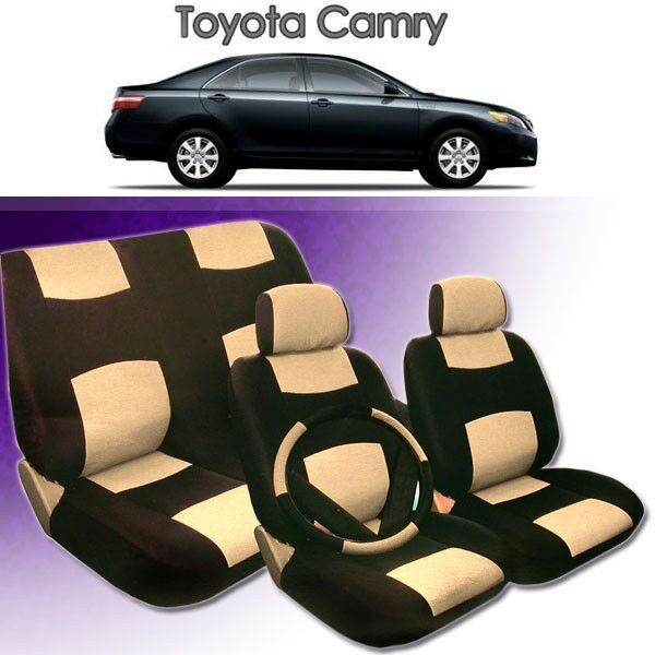 2005 2006 2007 2008 for toyota camry pu leather seat cover ebay. Black Bedroom Furniture Sets. Home Design Ideas