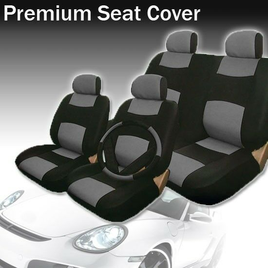 2004 2005 2006 2007 for honda civic car seat cover blk. Black Bedroom Furniture Sets. Home Design Ideas