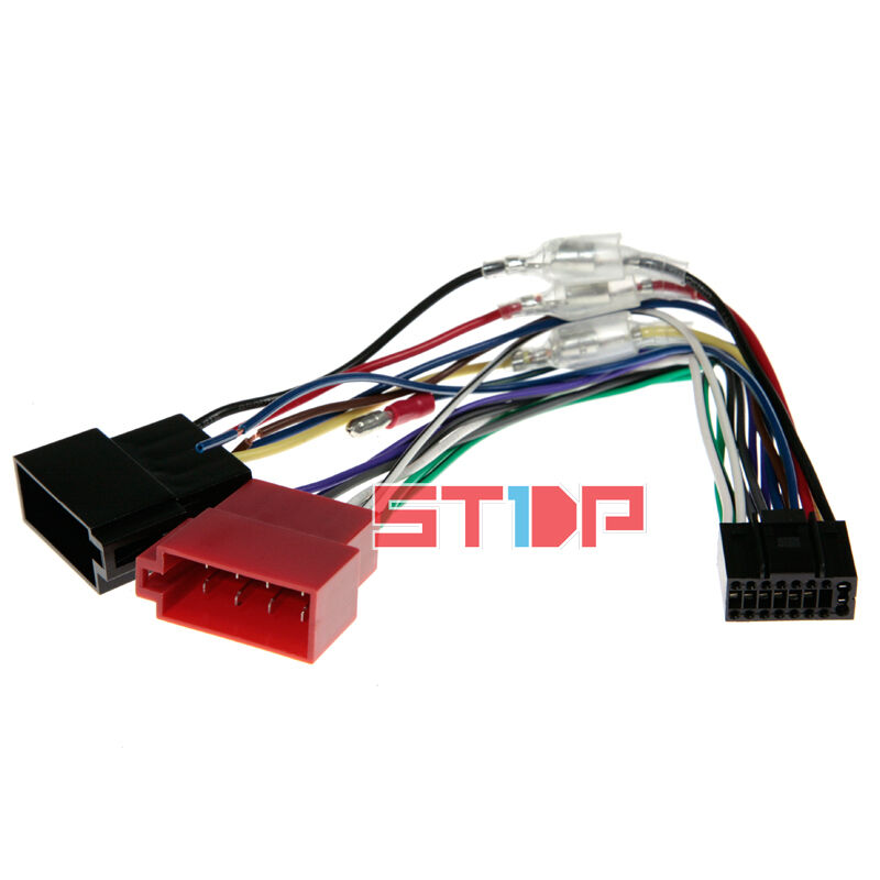 Iso wiring harness for kenwood ddx bt adaptor cable