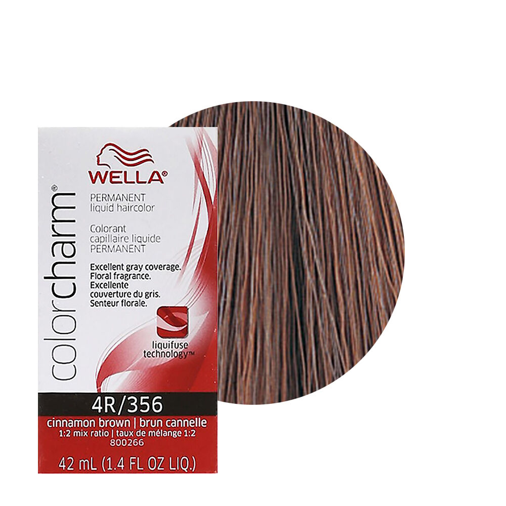 Wella Color Charm Permament Liquid Hair Color 42ml Cinnamon Brown