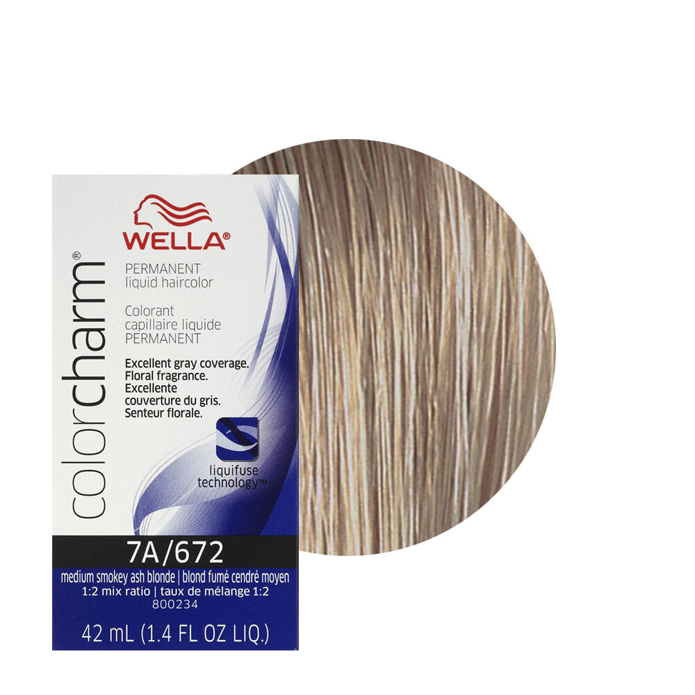 Wella Color Charm Permament Liquid Hair Dye Medium Smokey