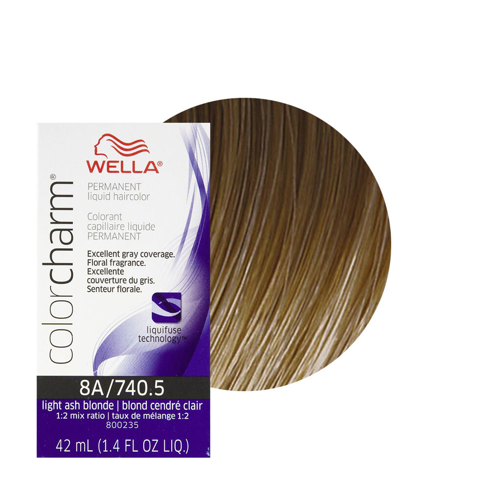 Wella Color Charm Permament Liquid Hair Color 42ml Light