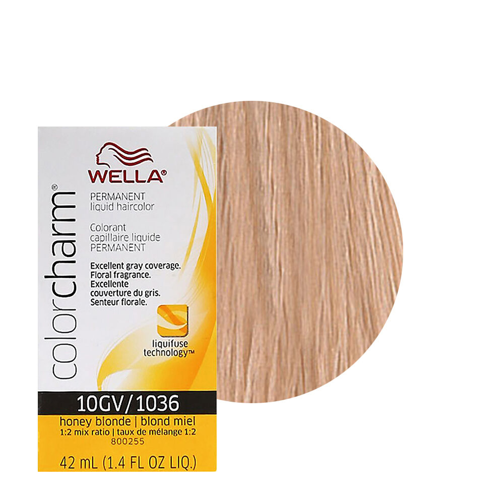 Wella Color Charm Permament Liquid Hair Color 42ml Honey