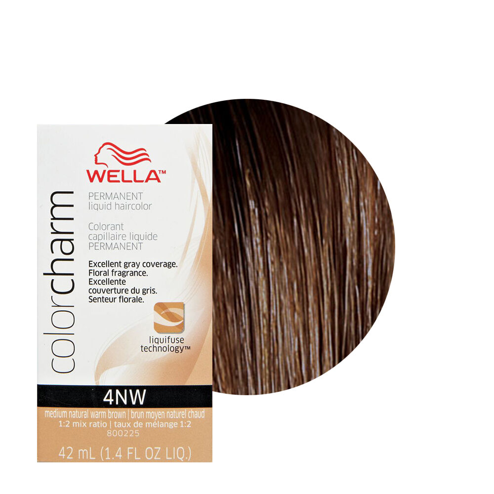 Wella color charm permament liquid hair color 42ml medium natural wella color charm permament liquid hair color 42ml medium natural warm brown 4nw 381519047183 ebay nvjuhfo Image collections