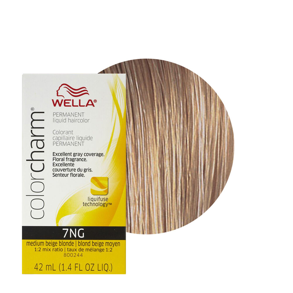 Wella Color Charm Permament Liquid Hair Color 42ml Medium