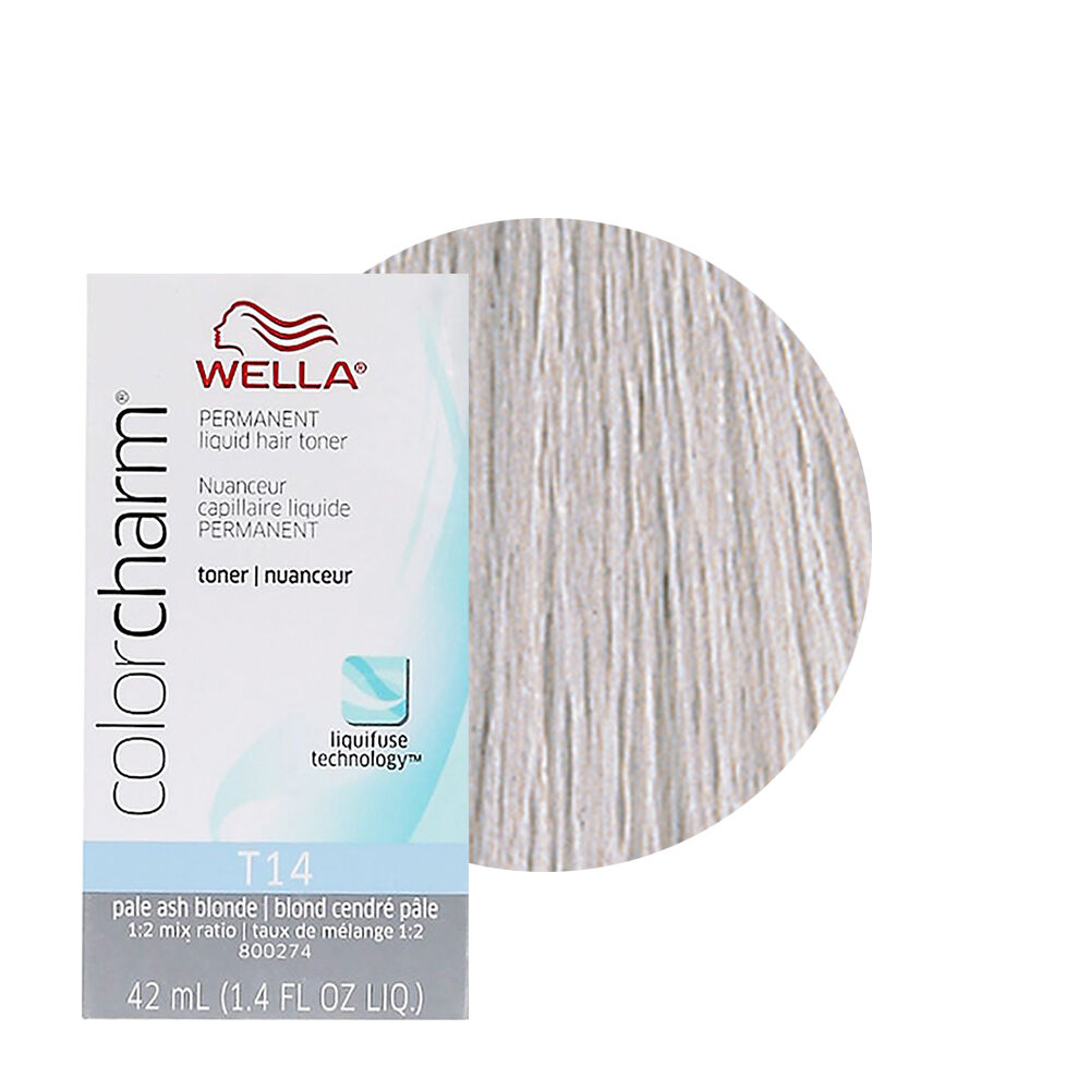 Wella Color Charm Permament Liquid Hair Dye Toner 42ml