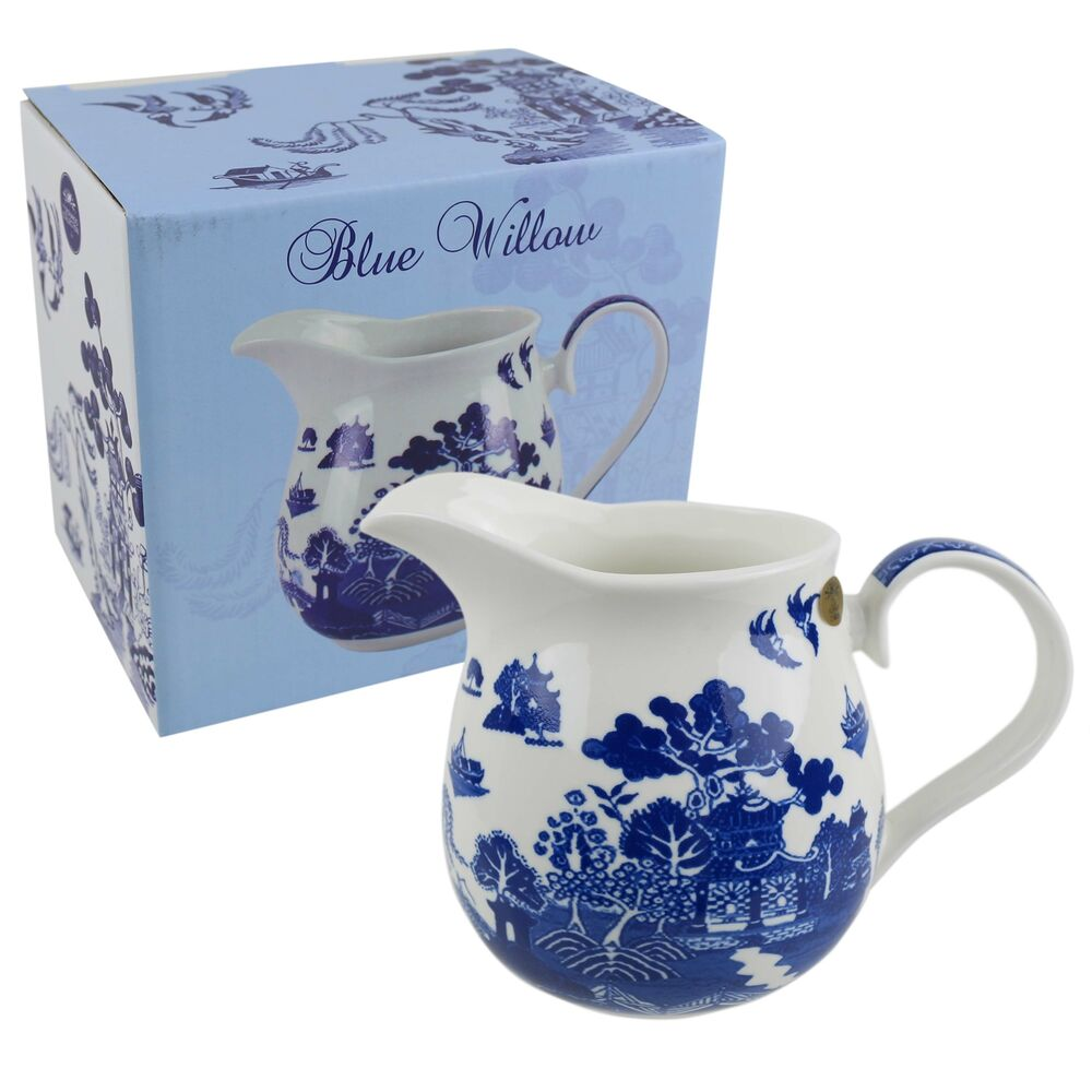 NEW Classic Large Jug by Leonardo Blue Willow Collection Kitchen ...