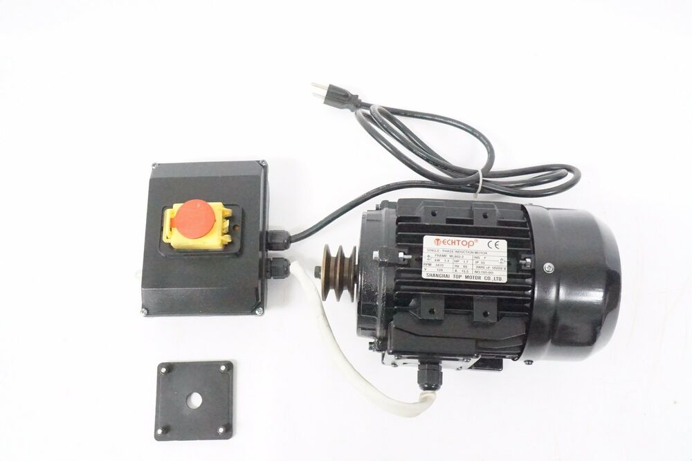 1 7 hp techtop electric motor 120v w capacitors