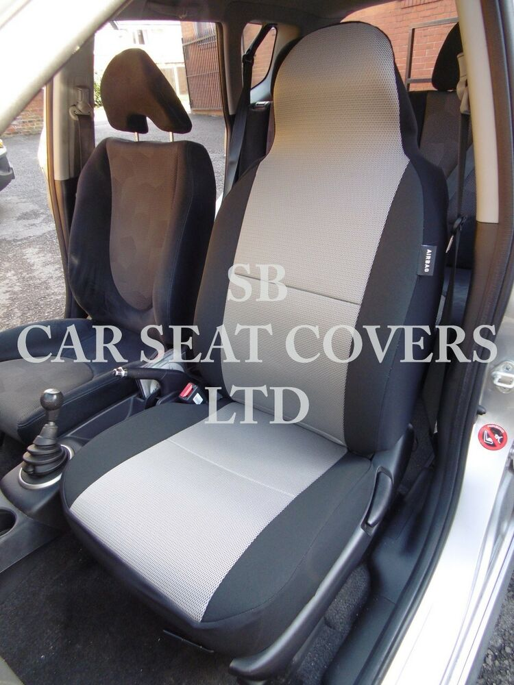 TO FIT A VOLVO XC60 CAR SEAT COVERS 3 DOOR TITANIUM GREY