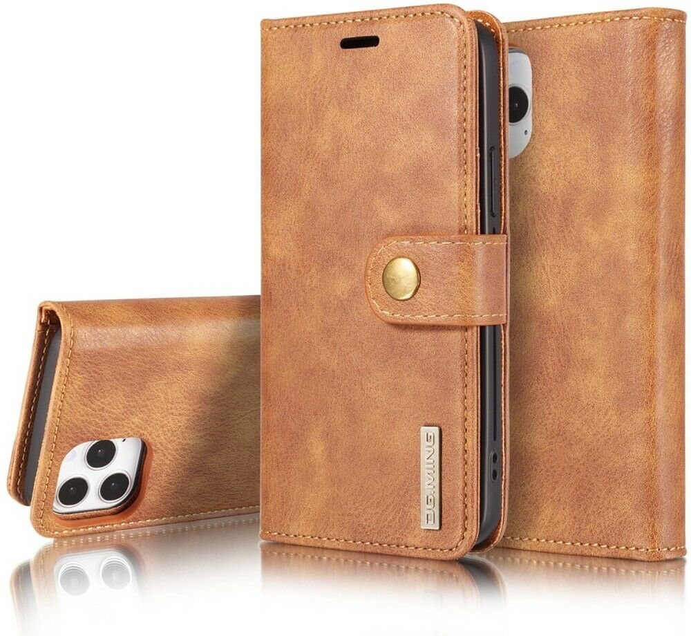 IPhone SE 5S 5 Premium Genuine Real Leather Luxury Wallet