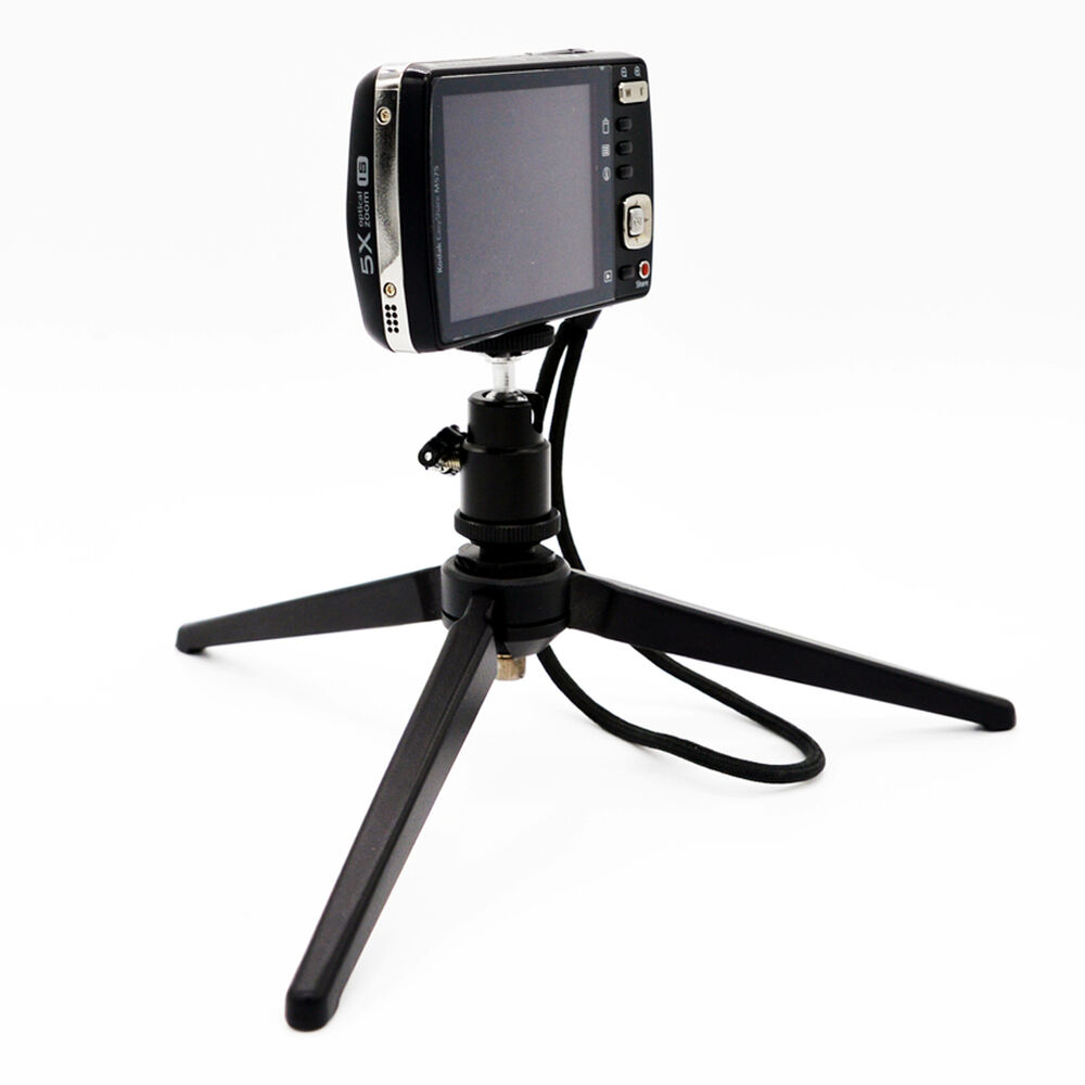 mini tt 50 table top lightweight tripod stand tripod grip stabilizer for camera ebay. Black Bedroom Furniture Sets. Home Design Ideas