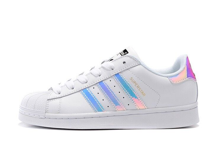 Adidas Superstars Holographic Stripes