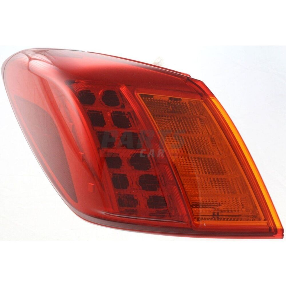 new tail lamp with wiring harness fits 2009 2010 nissan. Black Bedroom Furniture Sets. Home Design Ideas
